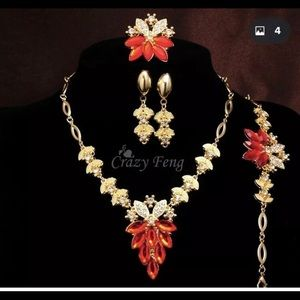 Gold Plated Crystal Sets